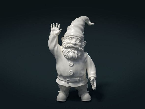 Garden Gnome - 3DOcean Item for Sale