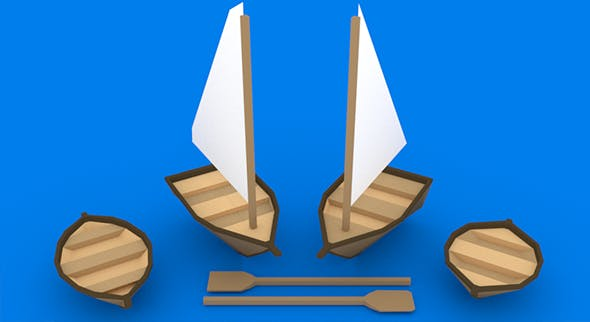 Small Boats Kit - 3DOcean Item for Sale