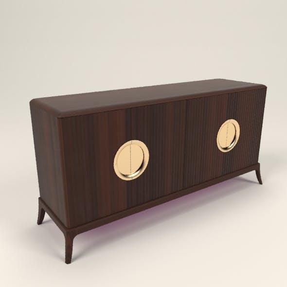 Art deco sideboard - 3DOcean Item for Sale