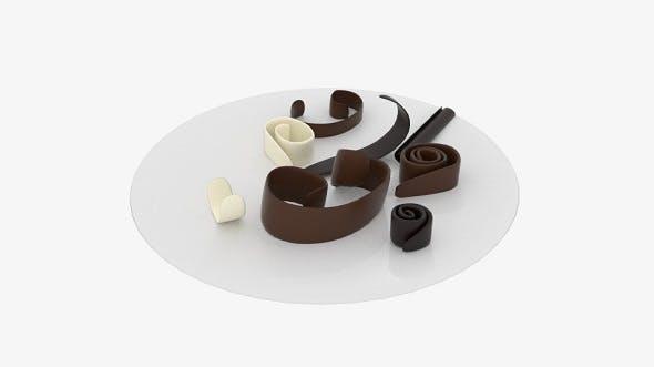 Chocolate Roll Debris - 3DOcean Item for Sale