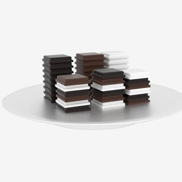Chocolate Block Stack
