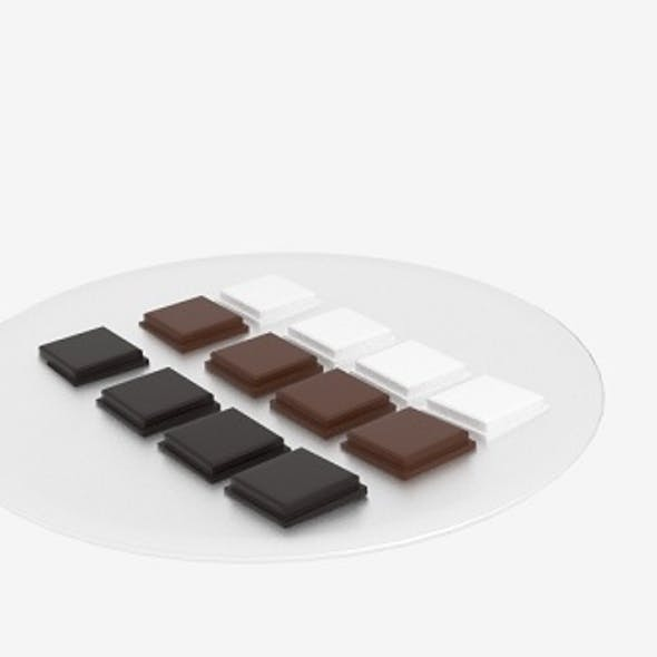 Chocolate Block Platter