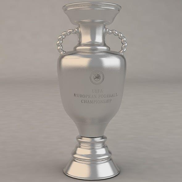 UEFA Cup Trophy - 3DOcean Item for Sale
