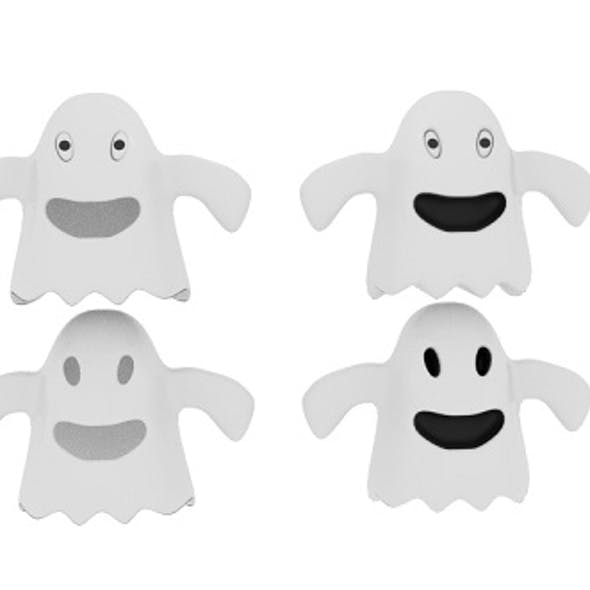Cartoon Fabric Ghost