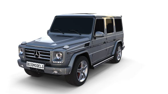 Mercedes Benz G Class Gray - 3DOcean Item for Sale