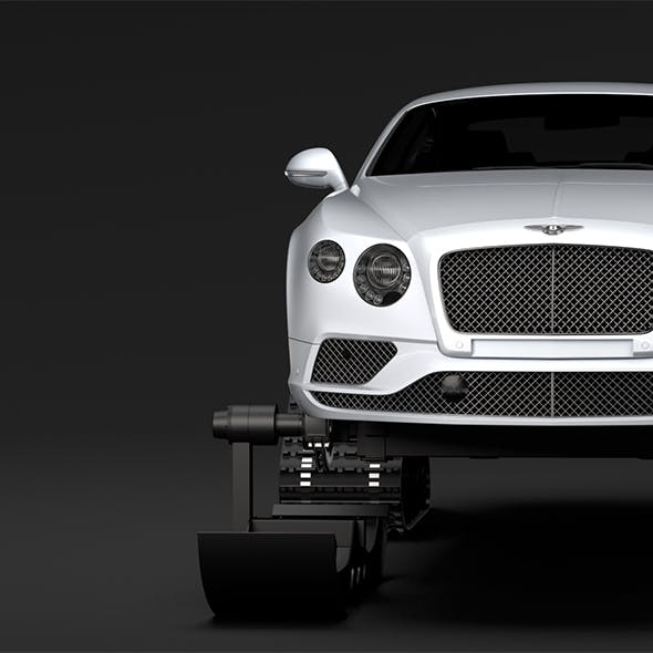 Bentley Continental GT Ski 2018 - 3DOcean Item for Sale
