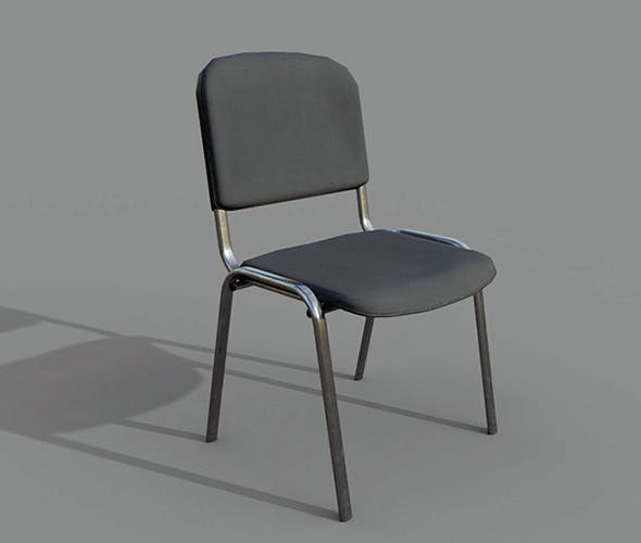 Offise Chair Game Ready - 3DOcean Item for Sale