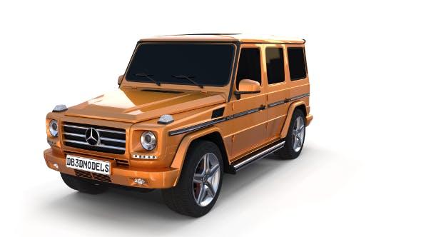 Mercedes Benz G Class Orange - 3DOcean Item for Sale