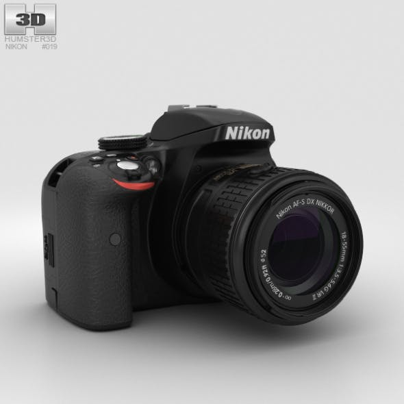 Nikon D3300 - 3DOcean Item for Sale