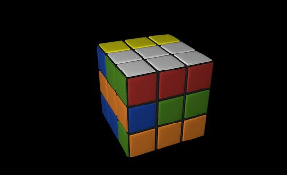 Cube 3 by 3 - 3DOcean Item for Sale
