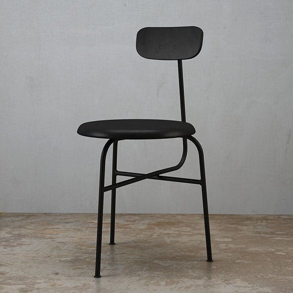 Afteroom Dining Chair 3 legs - 3DOcean Item for Sale