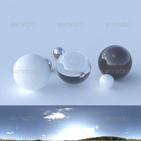 HDRI spherical panorama - 1823- clear sky - 3DOcean Item for Sale