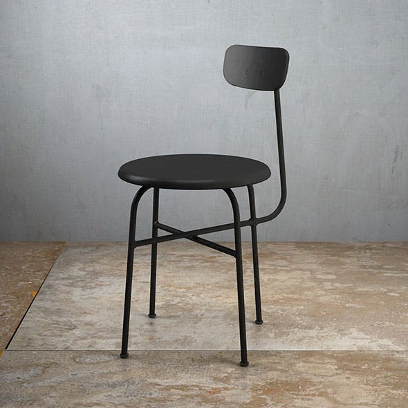 Afteroom Dining Chair 4 legs - 3DOcean Item for Sale