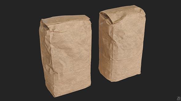 Flour Bag 001 - 3DOcean Item for Sale