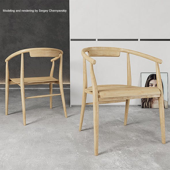 Chair Jens SJ61L - 3DOcean Item for Sale