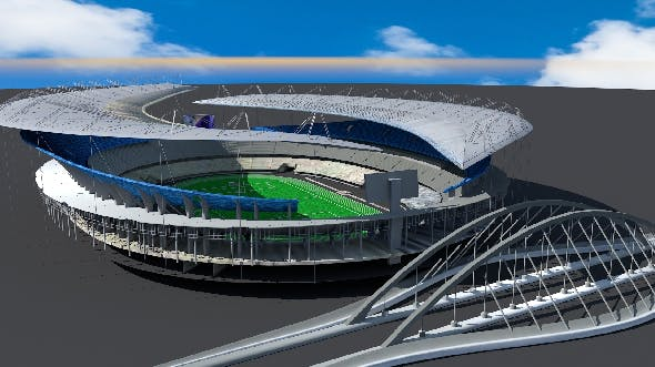 World cup Soccer Stadium. - 3DOcean Item for Sale