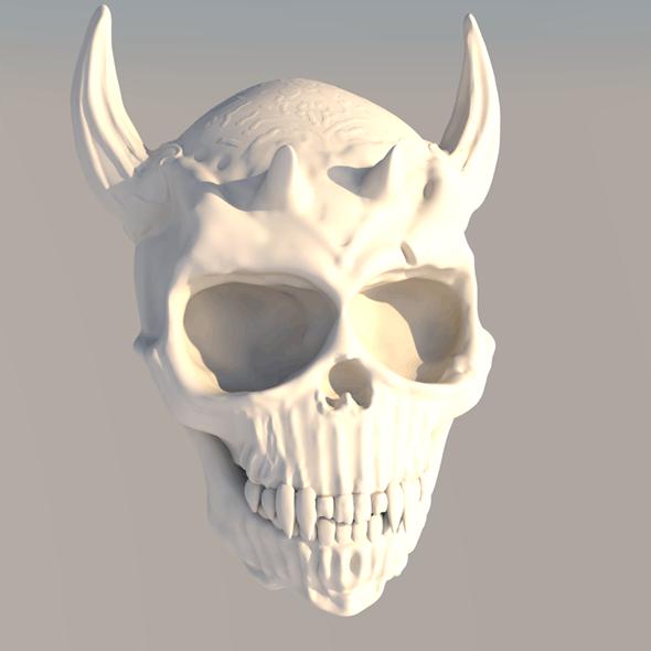 Devil Skull - 3DOcean Item for Sale