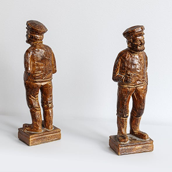 Old Sailor Statuette