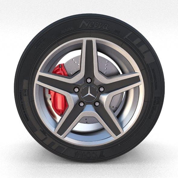 Mercedes G Class Wheel Full - 3DOcean Item for Sale