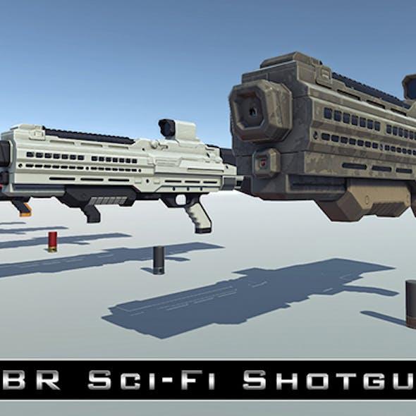 PBR Sci-Fi Shotgun