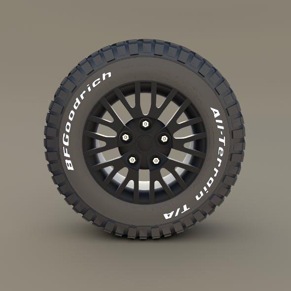 Kahn Wheel BF Goodrich Tire