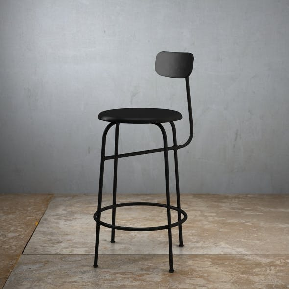 Afteroom Counter Stool - 3DOcean Item for Sale