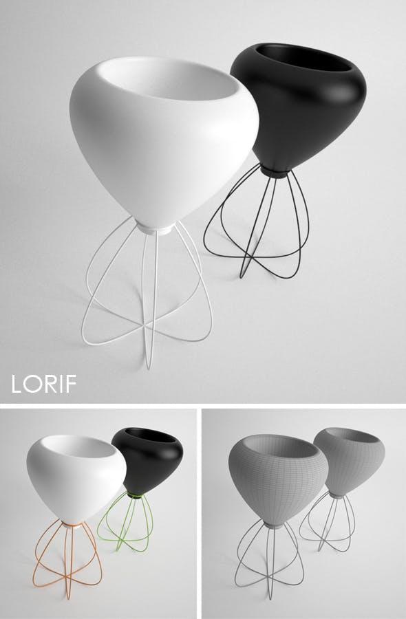 Vondom Spaghetti vase - 3DOcean Item for Sale