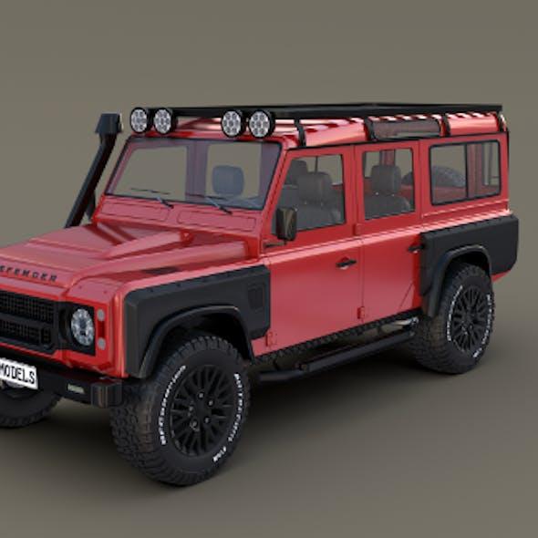 Land Rover Defender 110 Custom v2 with interior