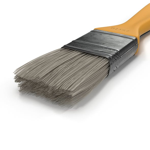 Paint Brush - 3DOcean Item for Sale