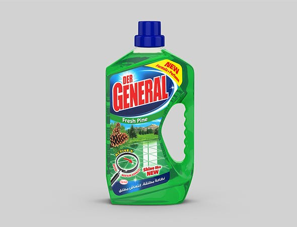 Detergent bottle - Der General 3D model - 3DOcean Item for Sale
