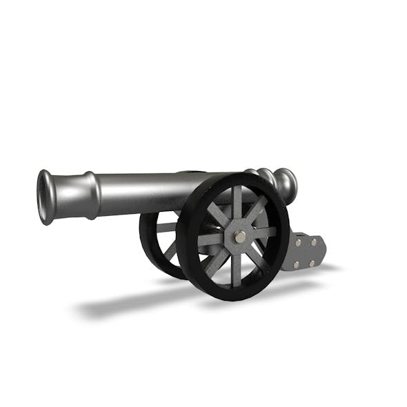 Cannon Model - 3DOcean Item for Sale