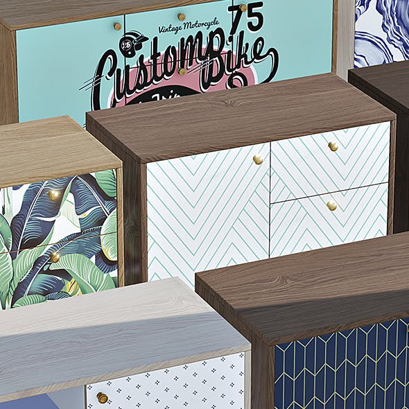 Enlight Furniture - Chest Of Drawers 01