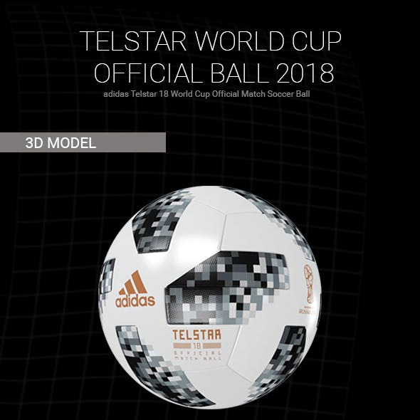 Telstar - World Cup Official Ball 2018