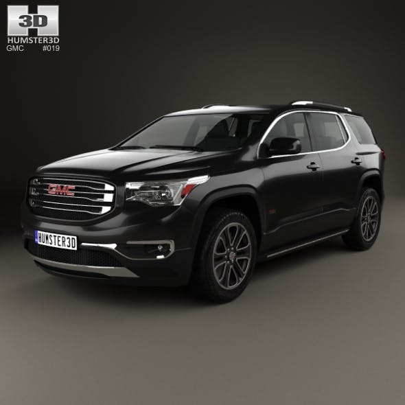 GMC Acadia 2017 - 3DOcean Item for Sale