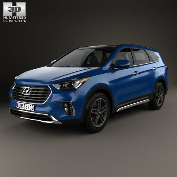 Hyundai Santa Fe (DM) 2017 - 3DOcean Item for Sale