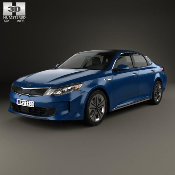 Kia Optima Hybrid 2017 - 3DOcean Item for Sale