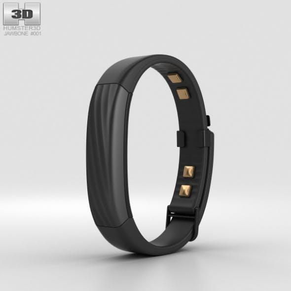 Jawbone UP3 Black Twist - 3DOcean Item for Sale