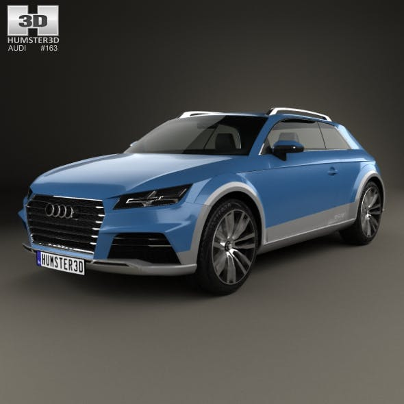 Audi Allroad Shooting Brake 2014 - 3DOcean Item for Sale