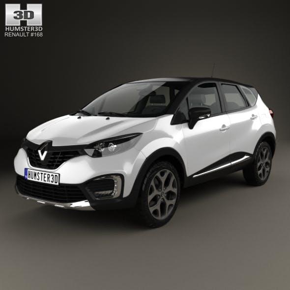 Renault Captur 2017 - 3DOcean Item for Sale