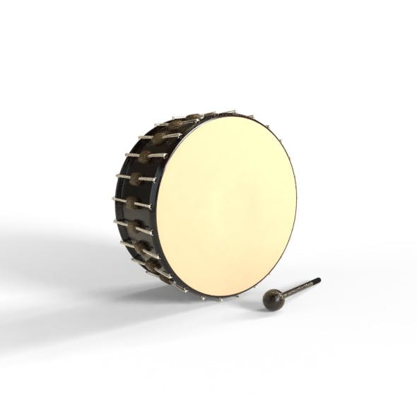 Drum and gavel Model - 3DOcean Item for Sale