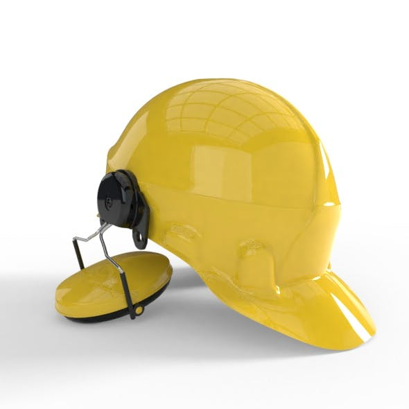Worker Helmet Model - 3DOcean Item for Sale