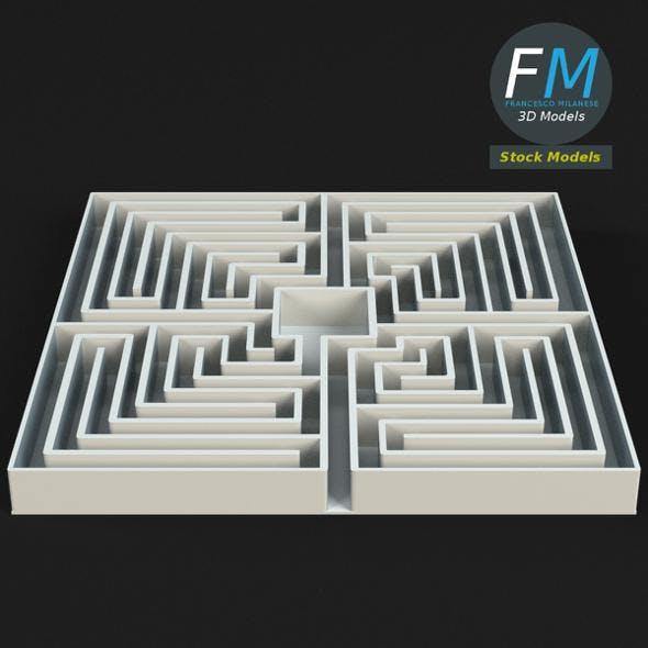 Labyrinth - 3DOcean Item for Sale