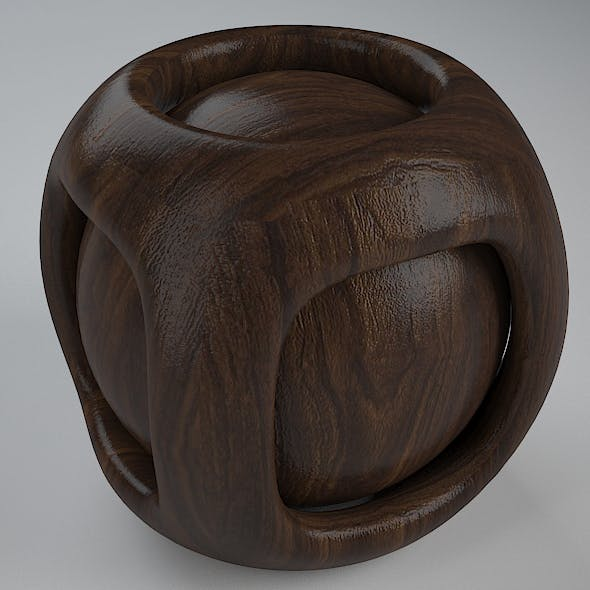 Real Plywood Vray Material California Walnut