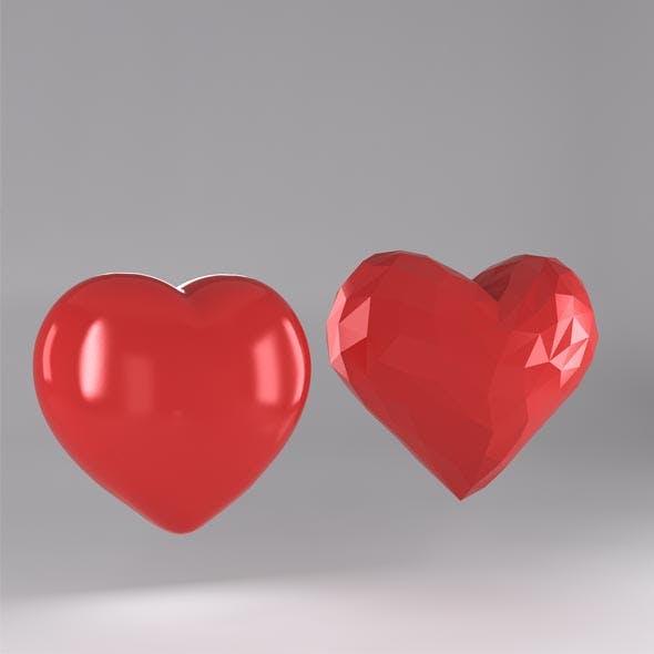 Heart - 3DOcean Item for Sale
