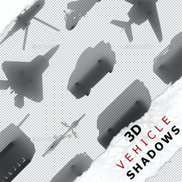 3D Shadow - Airplane 08