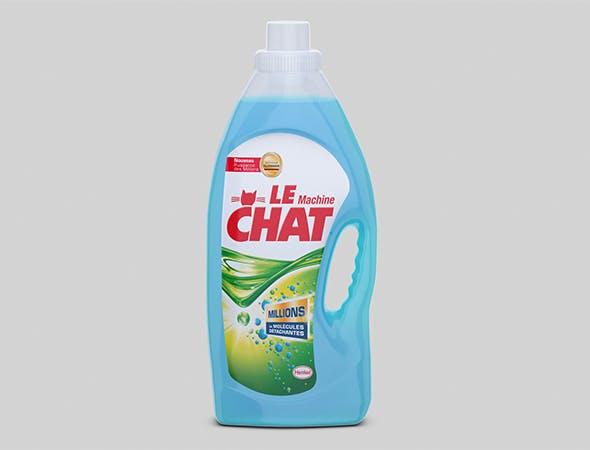 Le Chat bottle 3D model - 3DOcean Item for Sale