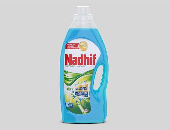 Nadhif bottle 3D model - 3DOcean Item for Sale