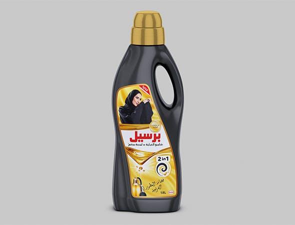 Persil Black bottle 3D model - 3DOcean Item for Sale