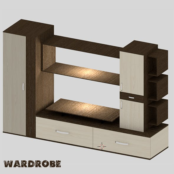 Wardrobe - 3DOcean Item for Sale
