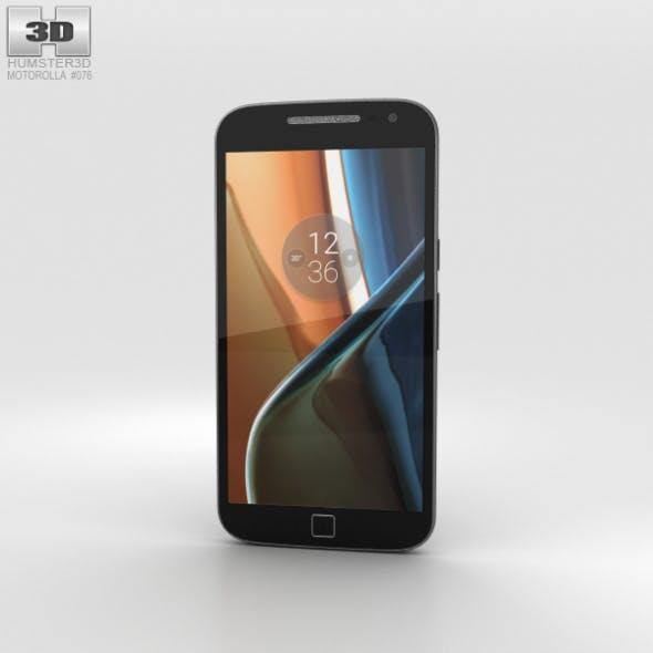 Motorola Moto G4 Plus Black - 3DOcean Item for Sale